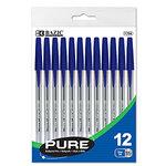 Pen, Pure Blue, 12/Pack