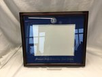 Frame, Diploma, Cherry, Double Mat, Royal Blue & Silver