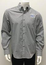 Gingham Checkered Dress Shirt