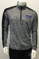 Black/ Gray Sport 1/4 Zip Pullover