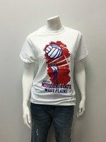 T-Shirt SM Wh Volleyball Hand/ Ball, Net MSU WP
