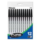 Pen, Pure Black, 12/Pack