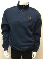 Navy 1/4 Zip Button Pullover