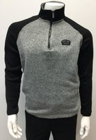 Black/Gray 1/4 Zip Pullover