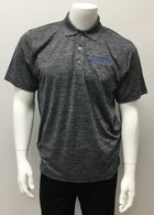 Black Heather Men's Polo