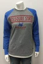 Crew Neck Terry Fleece MSU-WP