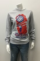 Lgsh T-Shirt SM Grey Volleyball Hand/Ball/Net MSU WP