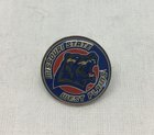 Pin, lapel w Missouri State and Grizzly Head
